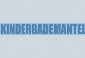 Kinderbademantel